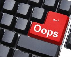 typing error